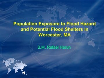 Analyzing the Population Exposure to Flood Hazard and Potential ...