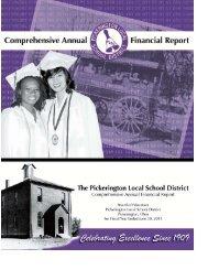 2011 CAFR - Pickerington Local School District