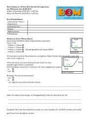 Anmeldeformular für Aussteller (als PDF) - BOM für Neuenrade und ...
