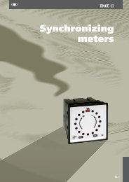 Synchronizing meters - Ime