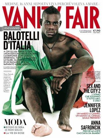 Vanity Fair - Balotelli, Mario
