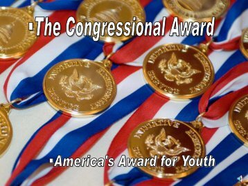 The Congressional Award - 42FSS.us