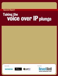 voice over IP - Network World