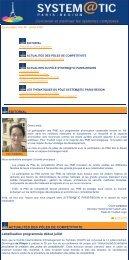 Juillet 2005 - Newsletter Systematic N°5