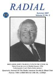 THE LORD RIX Kt CBE DL, G2DQU Summer 2007 Volume ... - raibc