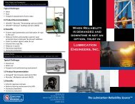 Drilling Industry Brochure - Lubrication Engineers, Inc.