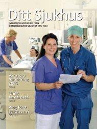 Ditt sjukhus - Informationstidning 2010.pdf - Landstinget ...