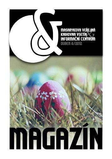 duben 4/2012 - Masarykova veřejná knihovna Vsetín