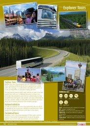 Explorer Tours - Destination Canada