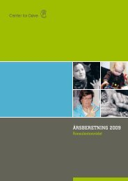 Download Konsulentområdets årsrapport 2009 ... - Center for døve