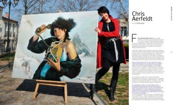 Lisa Omagari, Feature Chris Aerfeldt, Artist Profile Magazine ...