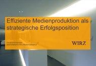 Effiziente Medienproduktion als strategische Erfolgsposition - VSD