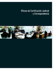 Oficina de Certificación Judicial y Correspondencia - Suprema Corte ...