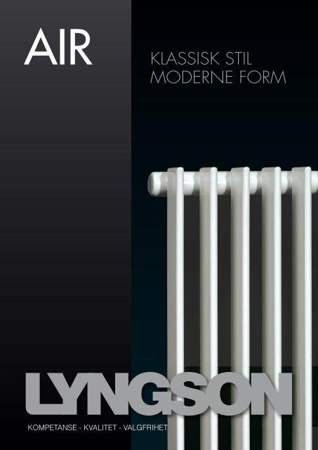 AIR KLASSISK STIL MODERNE FORM - Lyngson AS