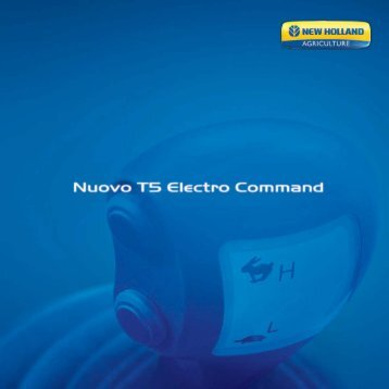 trasmissione electro command - New Holland