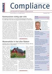 (PDF) | Ausgabe November 2012 - Compliance