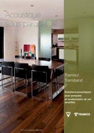 Catalogue Acoustique sous-parquet (1.3Mo) - dthX