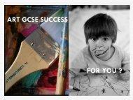 GCSE ART AND DESIGN - The Blue School
