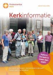 Katern: De kerk is meer dan werk - Protestantse Kerk in Nederland