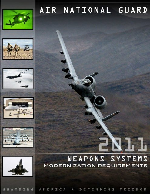 Air National Guard 2011 Weapons Systems Modernization ...