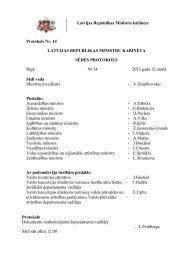 MK 12.03.2013 sēdes protokola Nr.14 32 § izraksts - ES fondi