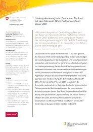 Fallstudie BASPO - FLAG - Führen mit Leistungsauftrag und ...
