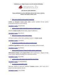 Publikācijas par Limbažu novadu no Lursoft Laikrakstu bibliotēkas ...
