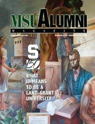 MSU Alumni Magazine - MSU Alumni Association - Michigan State ...