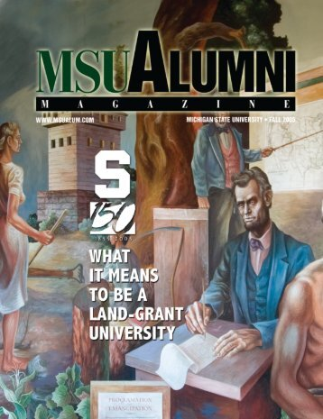 MSU Alumni Magazine - MSU Alumni Association - Michigan State ...