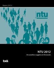 NTU 2012 - Brottsförebyggande rådet