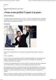 traduction Libé/AFP - Accueil