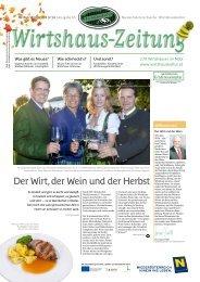 Der Wirt, der Wein und der Herbst - Niederösterreichische ...