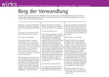 Der Artikel ist auch als druckfreundliches PDF erhältlich - wirks