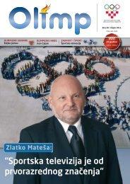 OLIMP 38 - ožujak 2011. - Hrvatski Olimpijski Odbor