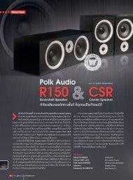 084-086-WaveTest Polk Audio R150 & CRS.indd - Piyanas
