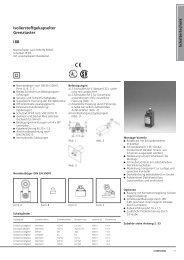 Schaltertechnik Isolierstoffgekapselter Grenztaster I88