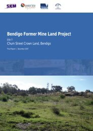 Bendigo Former Mine Land Project - City of Greater Bendigo
