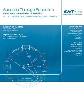 Success Through Education - Association of Water Technologies