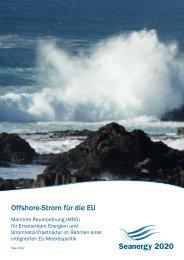 Offshore-Strom für die EU - Seanergy 2020