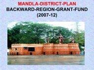 Mandla BRGF District Plan 2007-12 - nrcddp