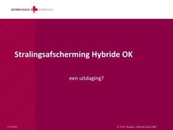 Stralingsafscherming Hybride OK - Deerns