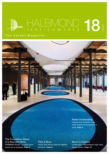 I 2011 The Carpet Magazine - Halbmond Teppichwerke GmbH