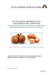 processos de irradiação nos alimentos - ESAC
