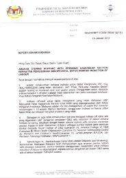 Surat Pekeliling Misoprostol - Bahagian Perkhidmatan Farmasi