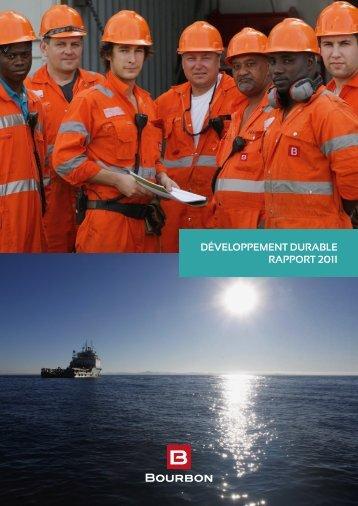 Développement Durable rapport 2011 - Bourbon
