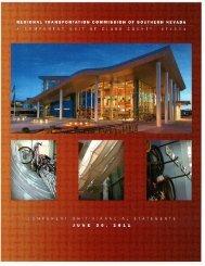 2011 Component Unit Financial Statements - Regional ...