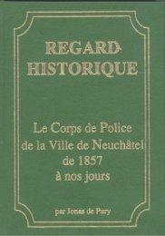 chapitre 2 - Police de la ville de Neuchâtel - Canton de Neuchâtel