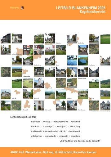 LEITBILD BLANKENHEIM 2025 Ergebnisbericht