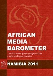 African media barometer - Bibliothek der Friedrich-Ebert-Stiftung