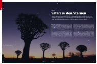 Safari zu den Sternen - Tivoli Southern Sky Guest Farm